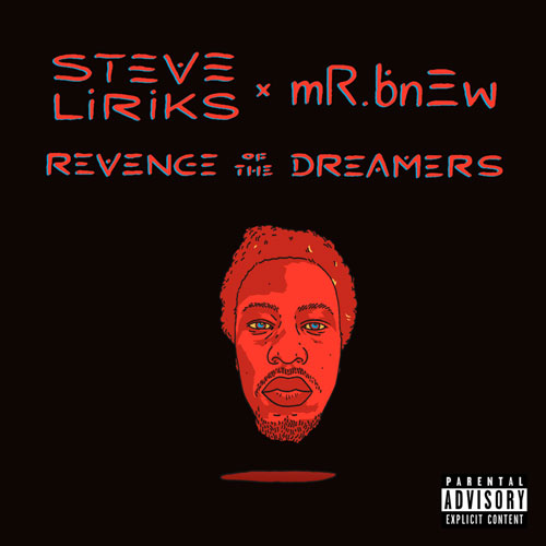 Steve Liriks - Revenge of the Dreamers Album Cover