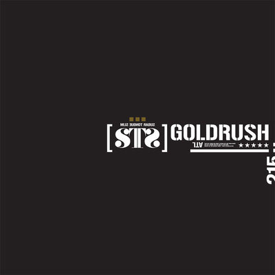 #GOLDRush Front Cover