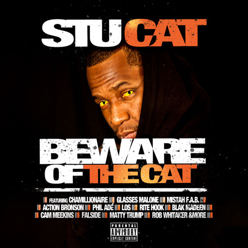 Stu Cat - Beware of the Cat Album Cover