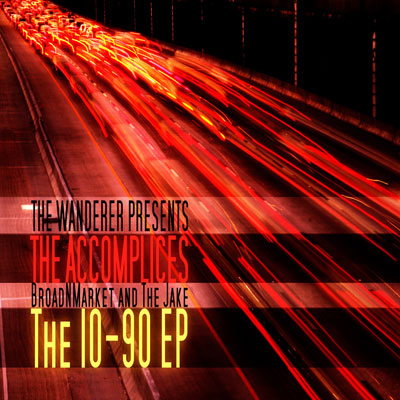 The Accomplices - 10-90 EP Cover