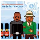 Silver & The Incomparable Shakespeare - The British Invasion Cover