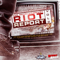 Revolt Radio - The Revolutionary Riot Report Vol. 2 Cover