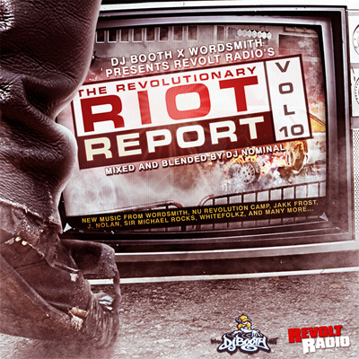 Revolt Radio - The Revolutionary Riot Report Vol. 10 Cover