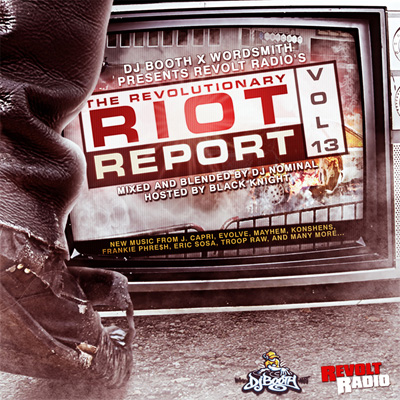 Revolt Radio - The Revolutionary Riot Report Vol. 13 Album Cover