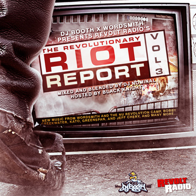 Revolt Radio - The Revolutionary Riot Report Vol. 3 Cover