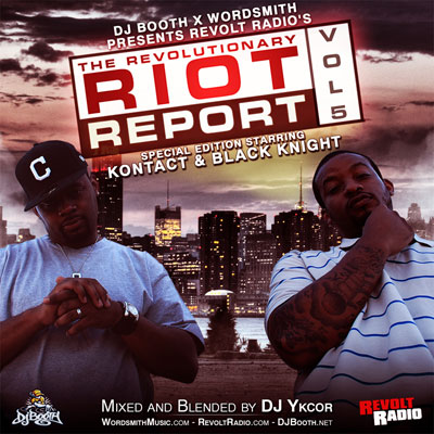 Revolt Radio - The Revolutionary Riot Report Vol. 5 Cover