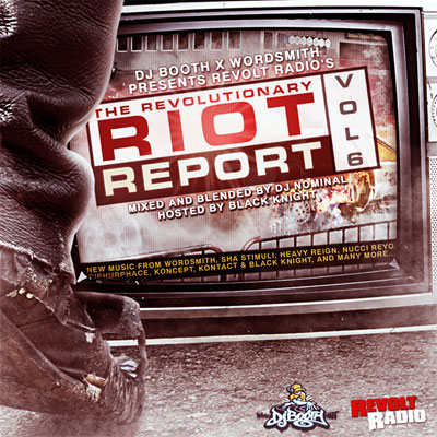Revolt Radio - The Revolutionary Riot Report Vol. 6 Cover
