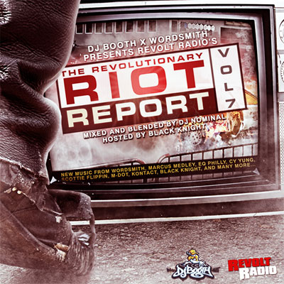 The Revolutionary Riot Report Vol 7 Front Cover