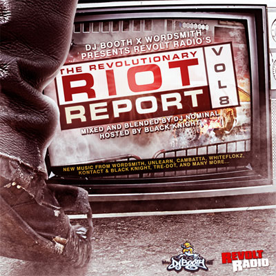 The Revolutionary Riot Report Vol. 8 Front Cover