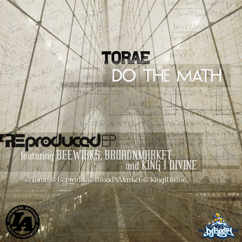 Do The Math Re-Produced EP Front Cover