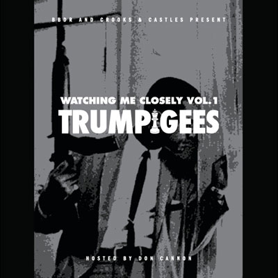 Trump Gees - Watching Me Closely Album Cover