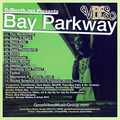 Vibes - Bay Parkway Album Cover