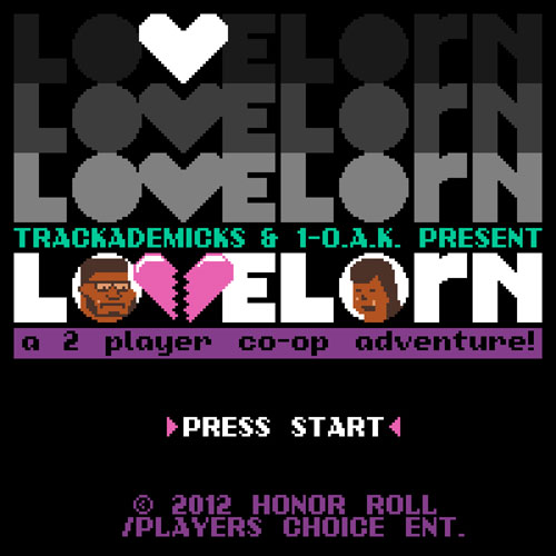 Trackademicks & 1-O.A.K. - 2 Player Co-Op: Lovelorn EP Album Cover