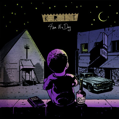 Big K.R.I.T. - 4EvaNaDay Cover
