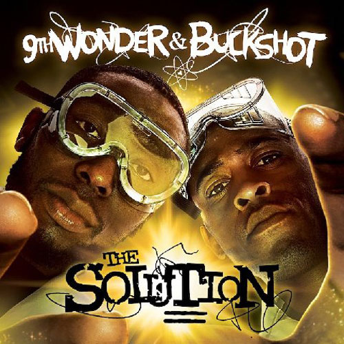 Buckshot x 9th Wonder - The Solution Cover