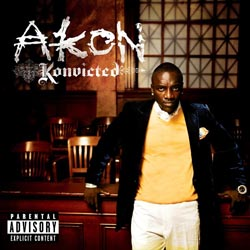 Akon- Konvicted Cover