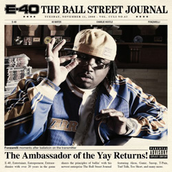 E-40 - The Ball Street Journal Cover