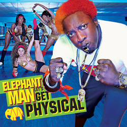 Elephant Man - Let's Get Physical Cover