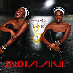 India.Arie - Testimony: Vol. 2, Love & Politics Album Cover
