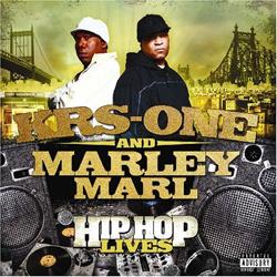 KRS-ONE & Marly Marl - Hip Hop Lives Album Cover
