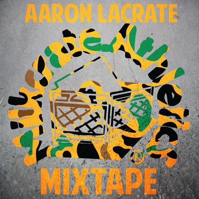 Aaron LaCrate - Milkcrate Mixtape Cover