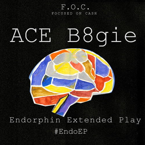 ACE B8gie - Endorphin Extended Play Album Cover