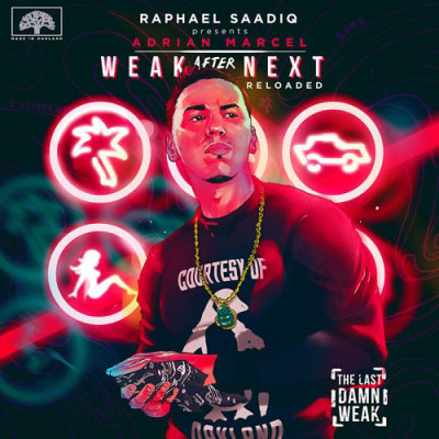 Adrian Marcel - Weak After Next Reloaded Album Cover