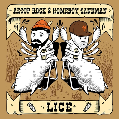 Aesop Rock & Homeboy Sandman - Lice EP Album Cover