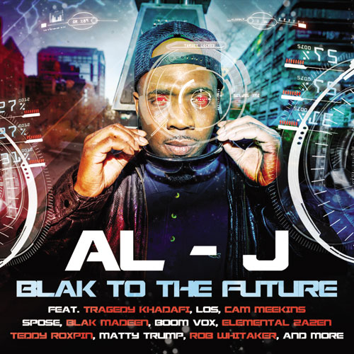 Al-J - Blak to the Future Album Cover