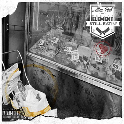 Allen Poe - Still Eatin EP Album Cover