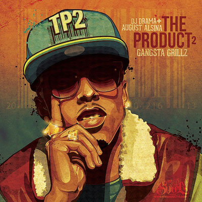 August Alsina - Gangsta Grillz: The Product 2 Cover