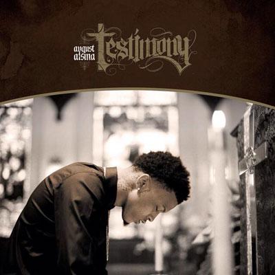 August Alsina - Testimony Cover