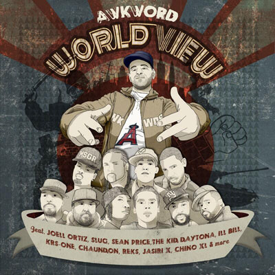 AWKWORD - World View Cover