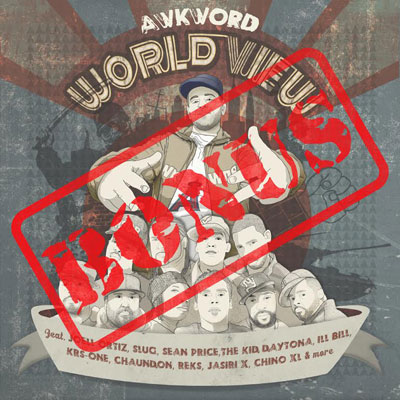AWKWORD - World View [Bonus Disc] Cover