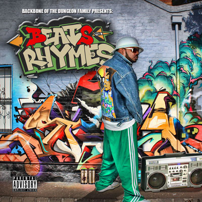 Backbone - Beats & Rhymes (The Homage EP) Album Cover