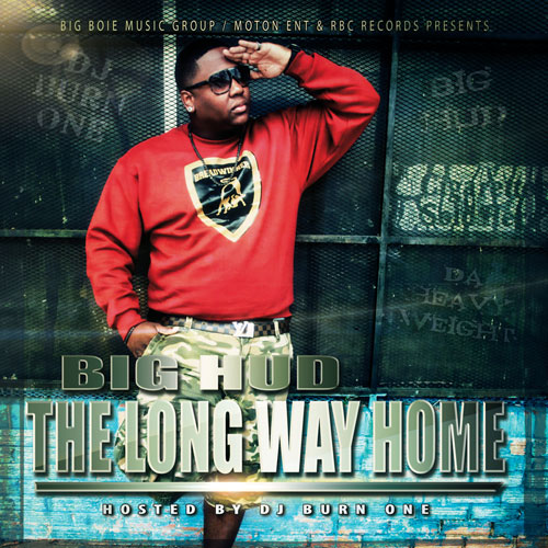 Big Hud (Da Heavyweight) - The Long Way Home Album Cover