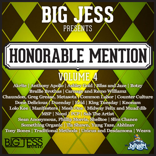 Big Jess Presents: Honorable Mention Volume 4 Cover