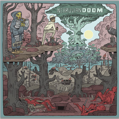 Bishop Nehru x DOOM - NehruvianDOOM Album Cover