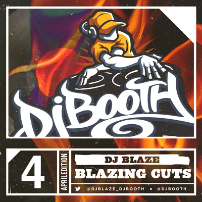DJ Blaze - Blazing Cuts (April 2014) Cover