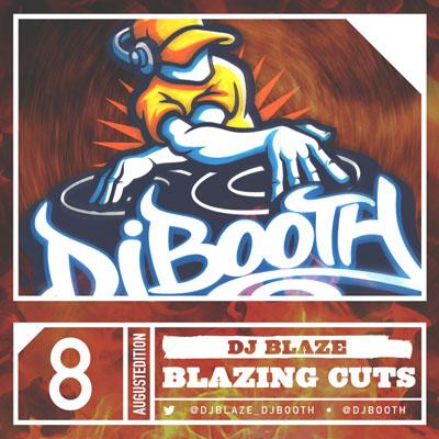 DJ Blaze - Blazing Cuts (August 2014) Cover