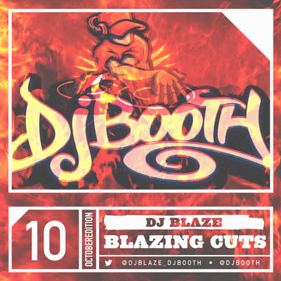 DJ Blaze - Blazing Cuts (October 2014) Cover