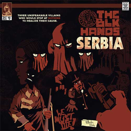 THEBLKHANDS - Serbia Album Cover
