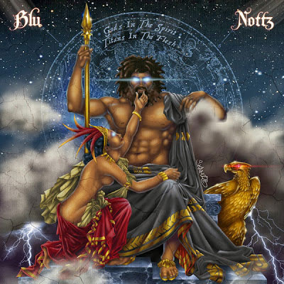 Blu x Nottz - Gods in the Spirit Cover