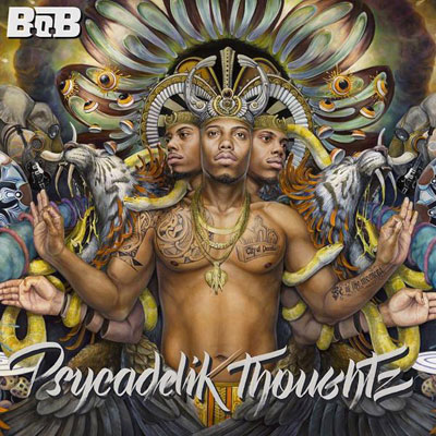 B.o.B - Psycadelik Thoughtz Album Cover