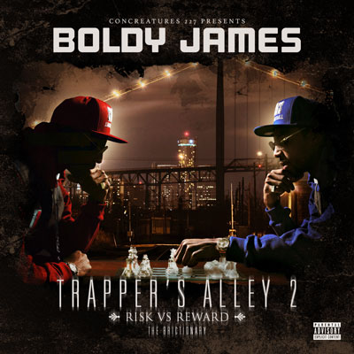 Boldy James - Trapper's Alley 2: Risk vs Reward [The Brictionary] Album Cover