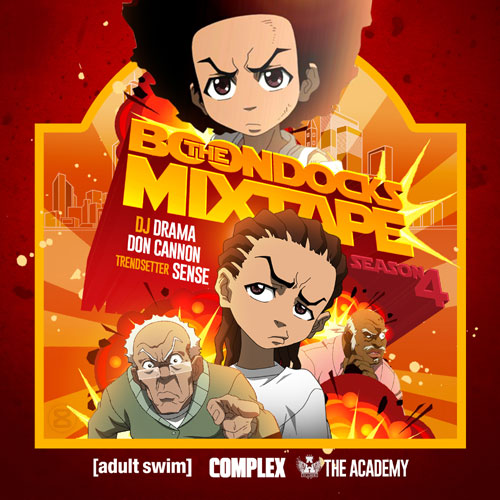DJ Drama x Don Cannon x Trendsetter Sense - The Boondocks Mixtape (Season 4) Album Cover