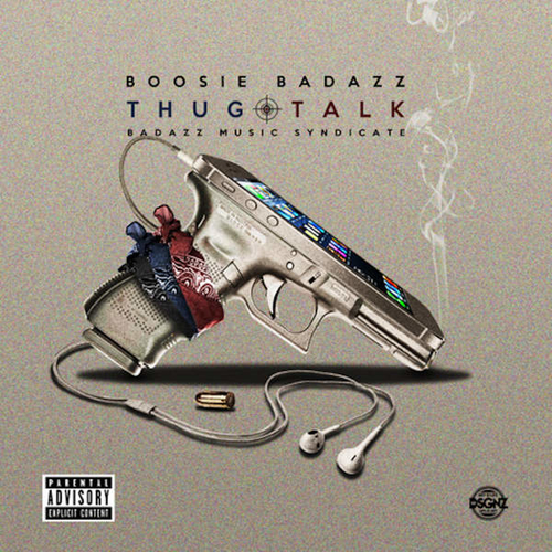 Boosie Badazz - Thug Talk Album Cover