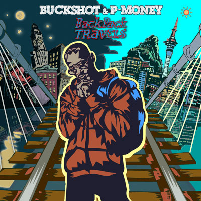 Buckshot & P-Money - BackPack Travels Cover