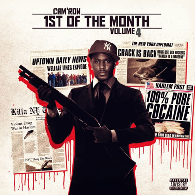 Cam'ron - 1st of the Month Vol. 4 EP Cover