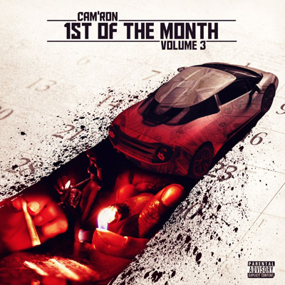Cam'ron - 1st of the Month Vol. 3 EP Cover